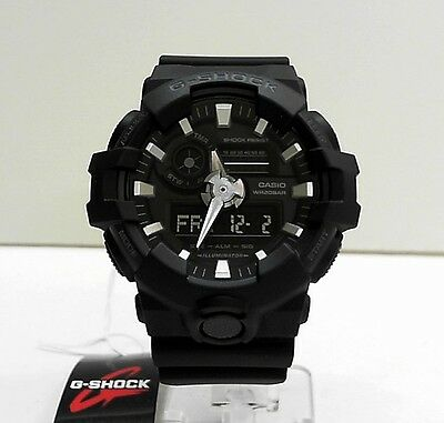 New Casio G-Shock Big Case Ana Digi World Time Watch GA-700-1B