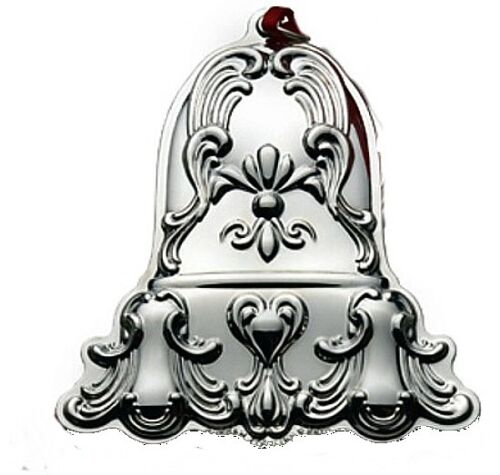 2010 Gorham Chantilly Bell Sterling Christmas Ornament 3rd Edition