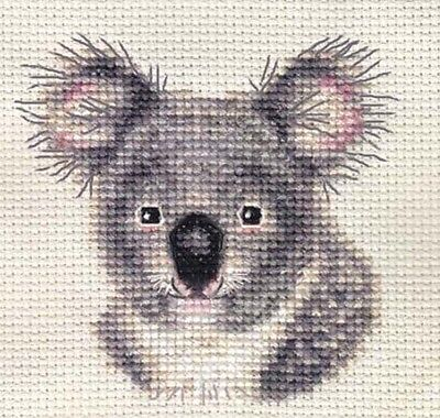 KOALA BEAR ~ Full counted cross stitch kit with all materials