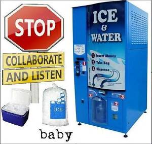 2 x USA Ice & Filtered Water Vending Machines. great condition Ascot Belmont Area Preview