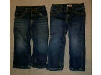 Boys jeans 2 years 4 pairs