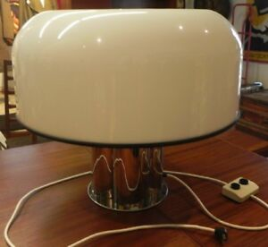 VINTAGE HARVEY GUZZINI DESIGN TABLE LAMP MADE IN ITALY