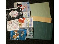 Double Sided Embossing Boards And Seven Cds