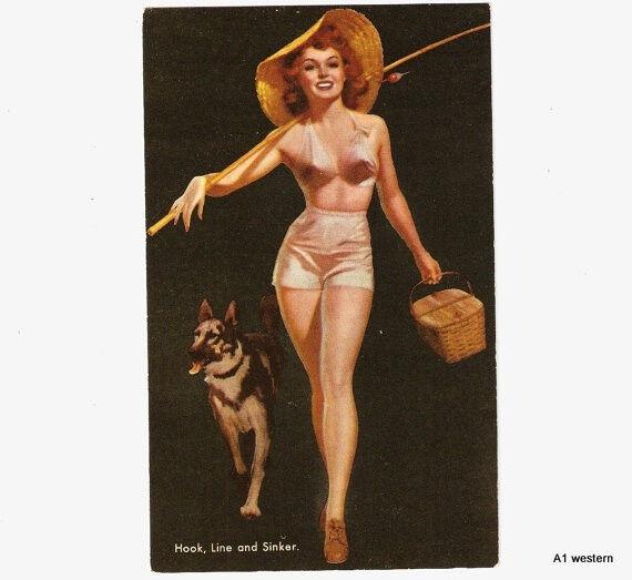 """Vintage German shepherd  refrigerator magnet 3 x 4 """""""