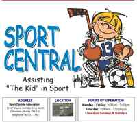 Sport Central - Donate your gently used Sports Equpment