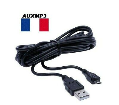 Cable USB PS4 longeur 1m50 playstation 4 chargeur manette recharger manette ps4