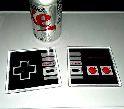 Nintendo regular original NES Controller Coaster 4 X 4 set