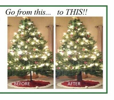 Artificial Christmas Tree Trunk - Makes It Look Like A REAL TREE!! ()