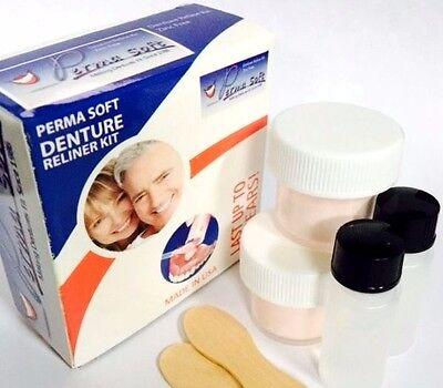 Denture Reline (PERMA SOFT Denture Reline | DENTURE RELINER KIT 2 LINER KITS)