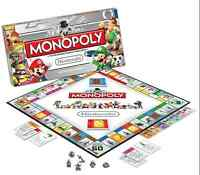 Nintendo Monopoly Collector`s Edition! Brand New!