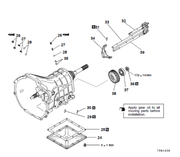 Triton Gearbox Parts 1995 4x4 5 Speed Manual Mitsubishi