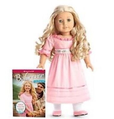 AMERICAN GIRL DOLL CAROLINE A BEFOREVER  DOLL NEW IN BOX  WITH BOOK 18