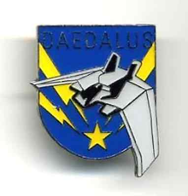 "Stargate SG-1 Atlantis DAEDALUS 1 3/8"" Enamel/Metal Pin- FREE S&H (SGPI-04)"