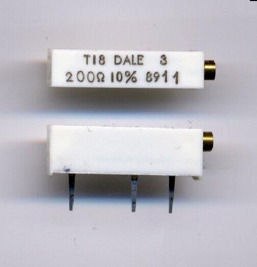 200 ohm 10% Trimmer - Multi-turn - 2 pcs / $1.00