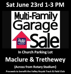 Multi-Family Garage Sale this Saturday June 23rd 1:00 - 3:00 PM