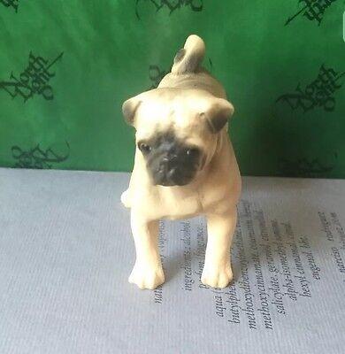 North Lights Hand Painted Pug Dog