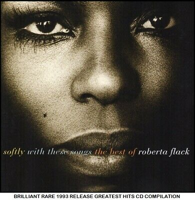 Roberta Flack - Very Best Greatest Hits Compilation - RARE 1993 CD 70's