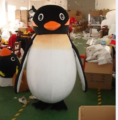 Halloween Brand Penguin Mascot Costume Party Cosplay Game Adults Size Outfits A+