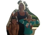 Fun loving mum with two boys looking for live in au pair to start end October