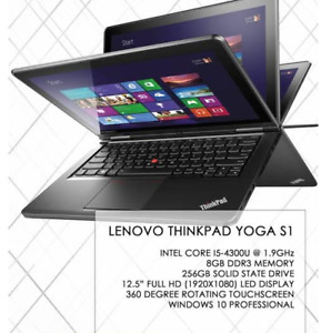 Lenovo ThinkPad Yoga S1 i7 256SSD TOUCH screen.