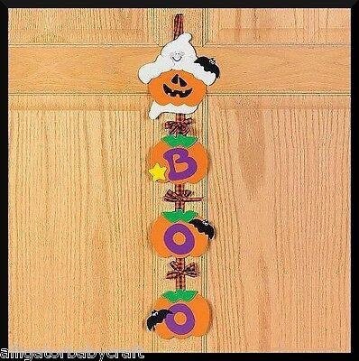 Halloween Ghost Door Greeter Hanger Craft Kit ABCraft - Halloween Greeter