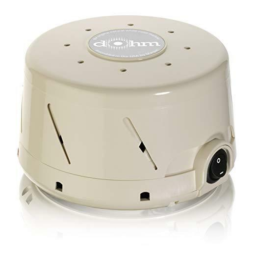 Marpac Dohm-SS Single Speed All-Natural Noise Sound Machine,