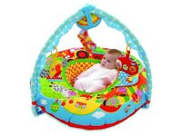 Halt play nest and baby play gym 2-in-1