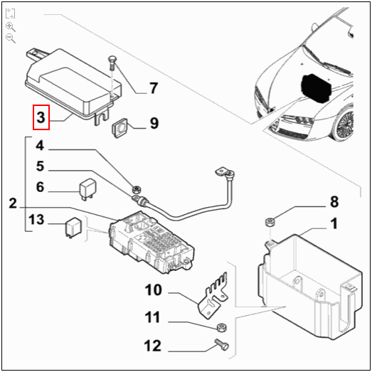 Alfa Romeo Brera Fuse Box Location - Wiring Diagram List on