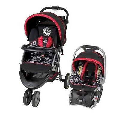 Travel System for Girls Folding Baby Stroller Infant Car Sea