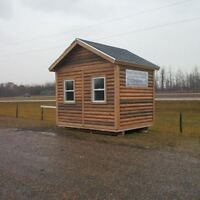 Cabin/Bunkie - 8ftx10ft - On skids - Insulated/finished inside