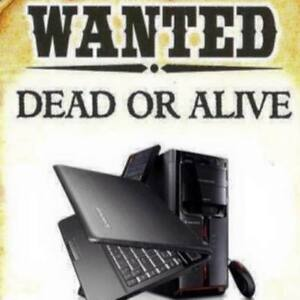 Cash for your old laptop Today