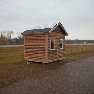 Cabin/Bunkie - 8ftx10ft - On skids - Insulated/finished inside Strathcona County Edmonton Area image 3