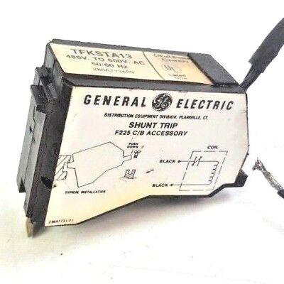 General Electric 480 to 600VAC, 50/60 Hz, Shunt Trip F225 C/B Accessory TFKSTA13
