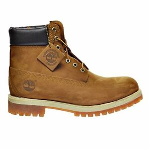 Timberland 6 Inch Premium Men's size 9 Rust waterproof