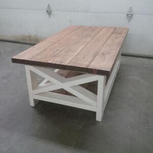 Rustic X Coffee tables - Custom sizes & stains Regina Regina Area image 7