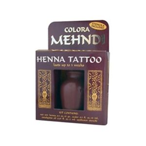 COLORA MEHNDI HENNA TEMPORARY TATTOO KIT WITH STENCILS