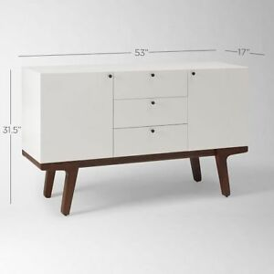 White Modern Buffet ( brand new in the box )