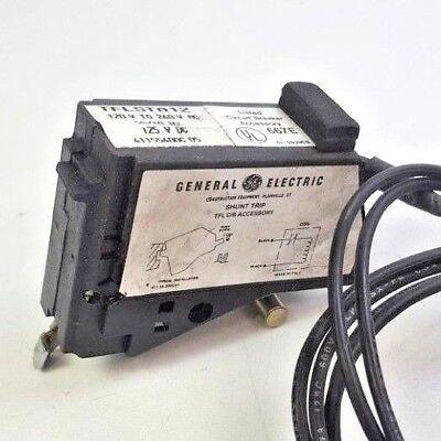 GE 120 to 240VAC, 50/60 Hz, 125 VDC, Shunt Trip TFL C/B Accessory TFLSTA12