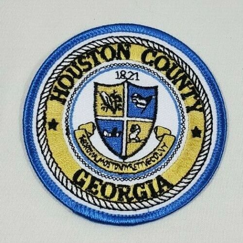 HOUSTON COUNTY GEORGIA GA SHERIFF POLICE SHOULDER PATCH - NEW -