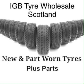 225/40/18 part worn tyres/ used