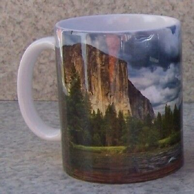 Coffee Mug National Park Yosemite California NEW 11 ounce cup with gift box ()