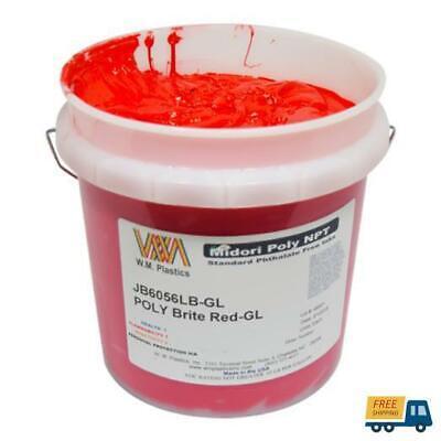 Brite Red- Plastisol Ink Quart
