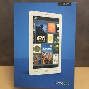 "Kobo ARC TABLET 64GB 7"" TOUCHSCREEN ANDROID W. CAMERA - Black"
