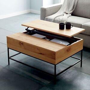 Industrial Storage Table Series (Coffee + Side + Console)