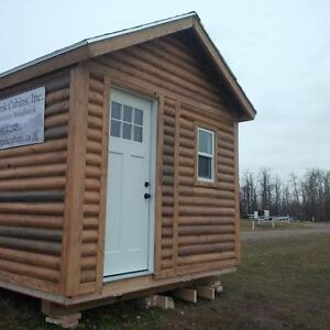 Cabin/Bunkie - 8ftx10ft - On skids - Insulated/finished inside Strathcona County Edmonton Area image 4