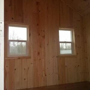 Cabin/Bunkie - 8ftx10ft - On skids - Insulated/finished inside Strathcona County Edmonton Area image 6