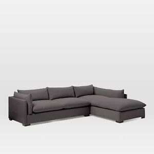 Brand new WE Coll Bristol Sectional LA 2 Seater + RA Chaise