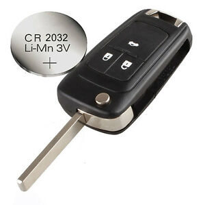 fits vauxhall opel zafira astra insignia 3 buttons remote key case battery ebay. Black Bedroom Furniture Sets. Home Design Ideas