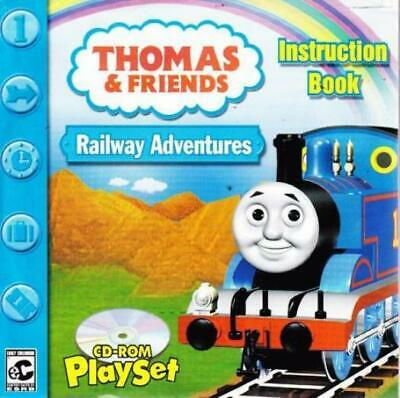 Thomas & Friends Railway Adventures PC CD-ROM kids train tracks learning game CD