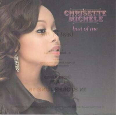 Chrisette Michele: Best Of Me PROMO w/ Artwork MUSIC AUDIO CD Main